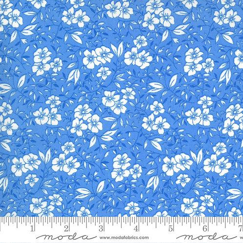 30's Playtime 33592 26 Blue Floral Moda Chloe's Closet