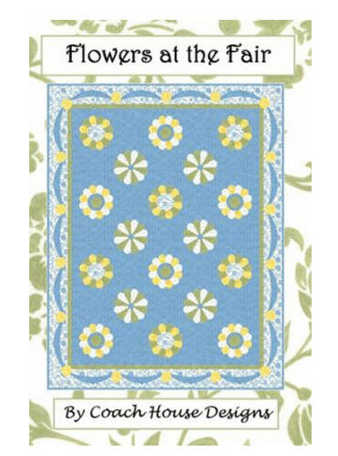 Coach House FLOWERS AT THE FAIR Pattern