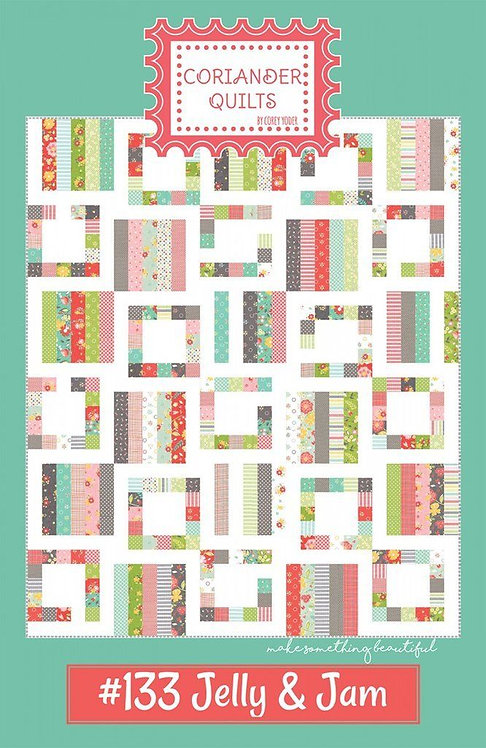 Coriander JELLY & JAM Jelly Roll Pattern