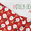 Thumbnail: Jolly Season 35345 13 Green Snowflakes Moda Abi Hall