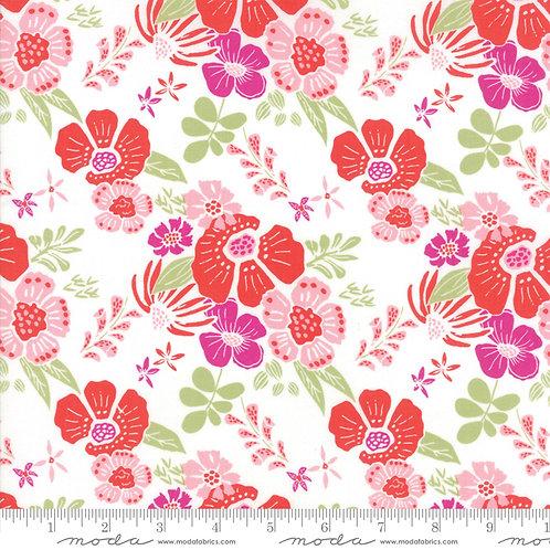 Bungalow 27290 13 Pink Floral Moda Kate Spain