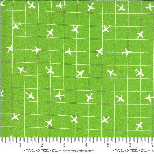 On the Go 20726 14 Green Planes Moda Stacy Iest Hsu