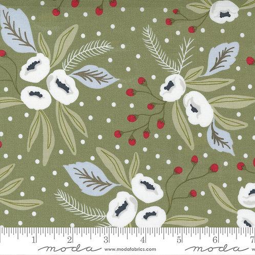 Christmas Morning 5140 15 Pine Floral Moda Lella Boutique
