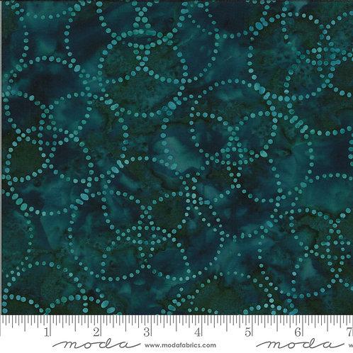 Confection Batiks 27310 99 Blue Raspberry Circles Moda Kate Spain