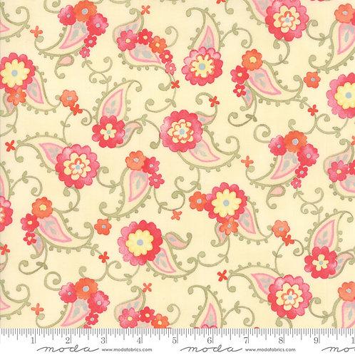 Nanette 33164 12 Ivory Pink Floral Moda Chez Moi