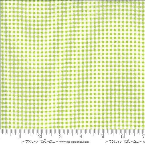 Apricot & Ash 29105 16 Green Lime Check Plaid Moda Corey Yoder