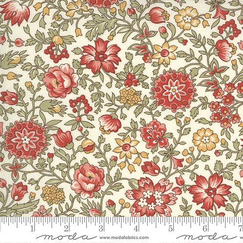 Jardin de Fleurs 13894 20 Pearl Floral Moda French General