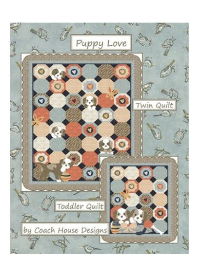 Coach House PUPPY LOVE Pattern