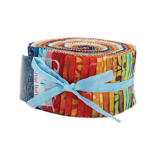 Carnival Batiks Moda Jelly Roll