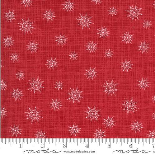 Juniper 13204 12 Red Snow Floral Moda Katie & Birdie
