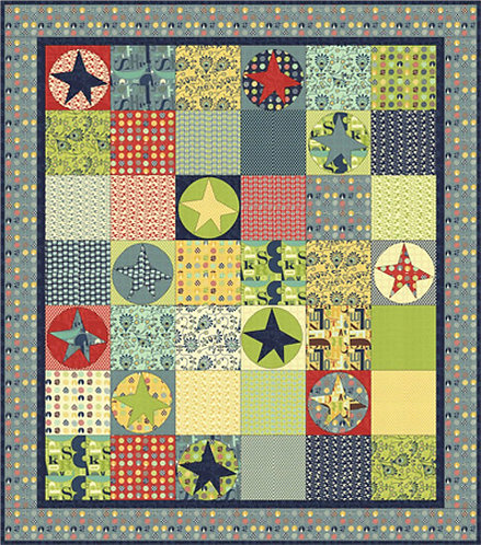 Coach House CLUBHOUSE Fat Quarter Pattern