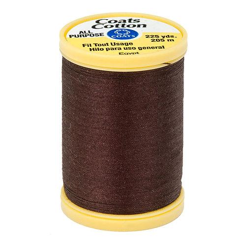 Coats & Clark Thread CHONA BROWN 3 spools 30wt