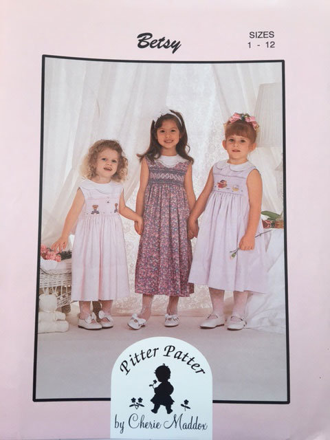 Pitter Patter BETSY Smocking Pattern