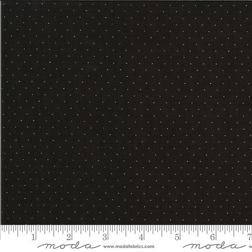 It's Elementary 21098 153 Black Pindot Moda AMERICAN JANE