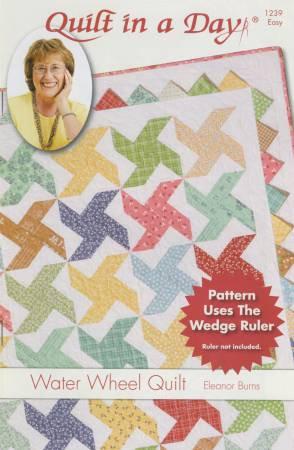 Eleanor Burns WATER WHEEL Jelly Roll Booklet  patterns