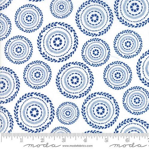 Harmony 5692 25 Blue Circles Moda Sweetwater