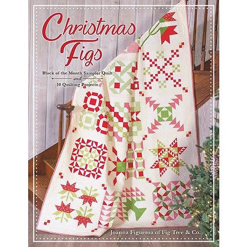 CHRISTMAS FIGS Moda BOM Sampler Quilt Book Fig Tree