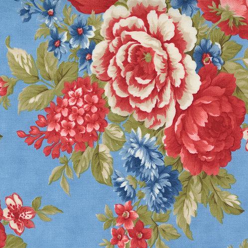 Belle Isle 14920 14  Sky Floral Minick & Simpson