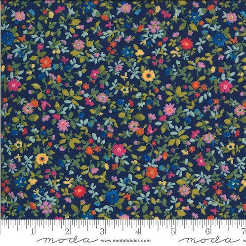 Lulu 33584 11 Small Navy Floral Moda Chez Moi