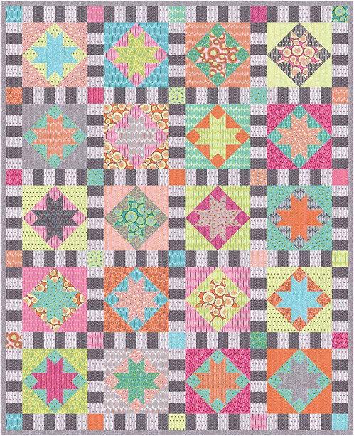 Aunt Em's TWINKLE Fat Quarter Pattern