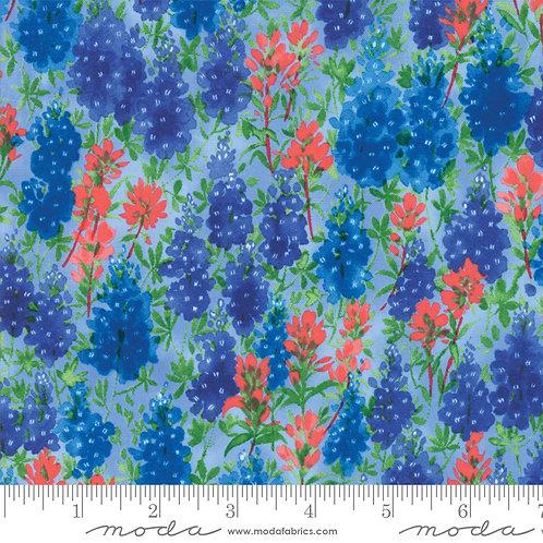 Fields of Blue 33451 13 Bluebonnets Moda