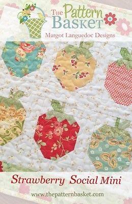 Pattern Basket STRAWBERRY SOCIAL MINI Pattern