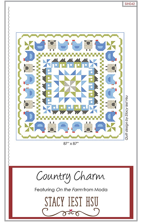 Stacy Iest Hsu COUNTRY CHARM Pattern