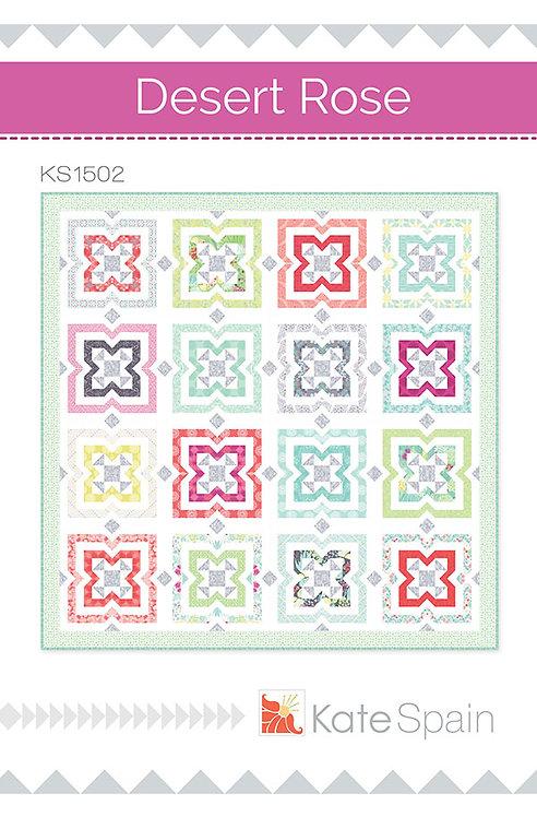 Kate Spain DESERT ROSE Fat Quarter Pattern