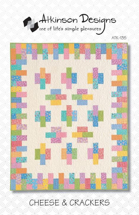 Atkinson Designs CHEESE & CRACKERS Fat Quarter Pattern