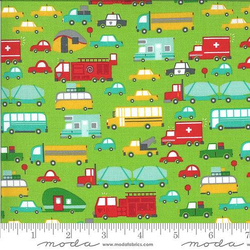 On the Go 20721 14 Green Cars Moda Stacy Iest Hsu