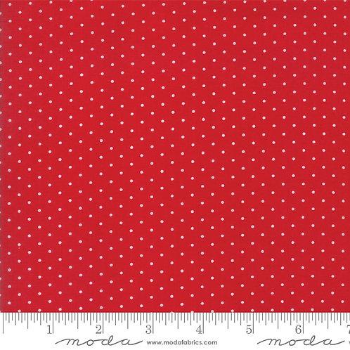 Sugar Plum 2918 16 Red Dots Moda Bunny Hill