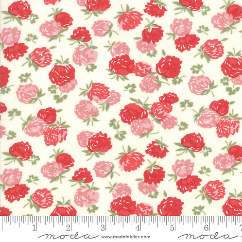 At Home 55203 16 Red Floral Moda Bonnie & Camille