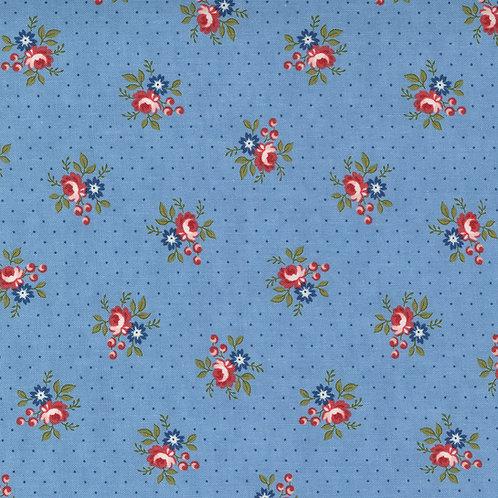 Belle Isle 14925 14  Sky Floral Minick & Simpson