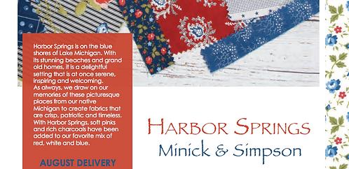 Harbor Springs Moda Minick & Simpson Jelly Roll