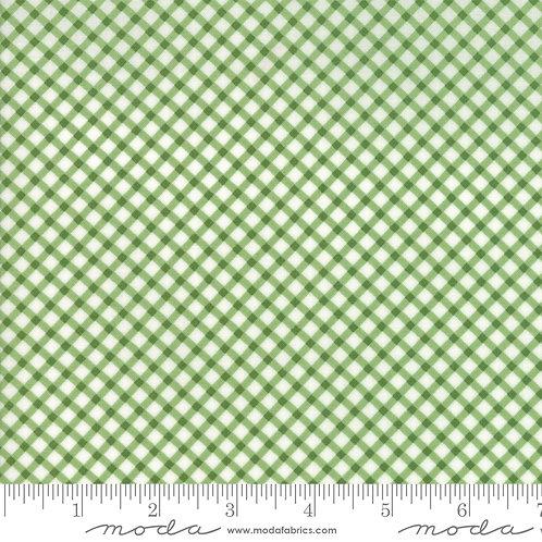 Good Tidings 18665 14 Green Check Moda Brenda Riddle
