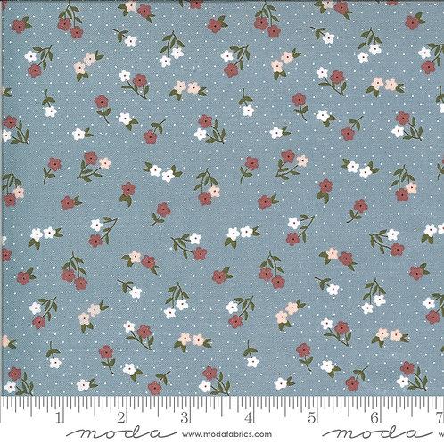 Folktale 5123 17 Blue Floral Moda Lella Boutique