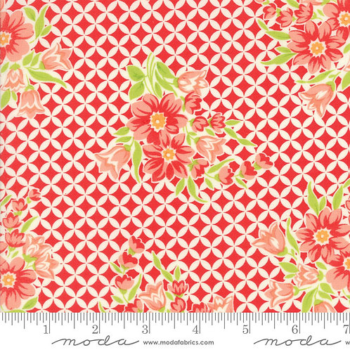 Handmade 55146 11 Red Floral Moda Bonnie & Camille