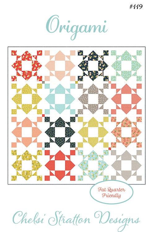 A Quilting Life ORIGAMI Fat Quarter Pattern