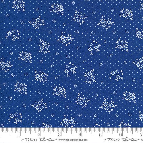 30's Playtime 33595 17 Blue Floral Moda Chloe's Closet