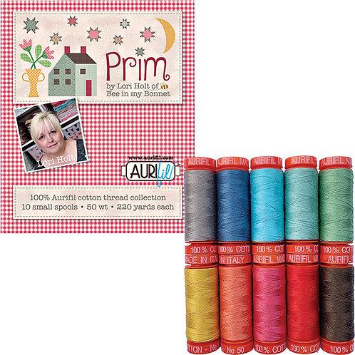 Aurifil Thread PRIM Lori Holt 10 spools 50wt