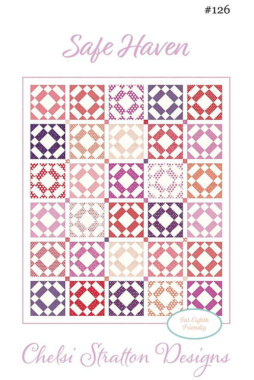 A Quilting Life SAFE HAVEN Fat Quarter Pattern