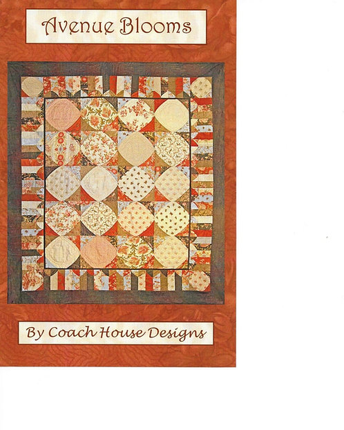 Coach House AVENUE BLOOMS Layer Cake Pattern