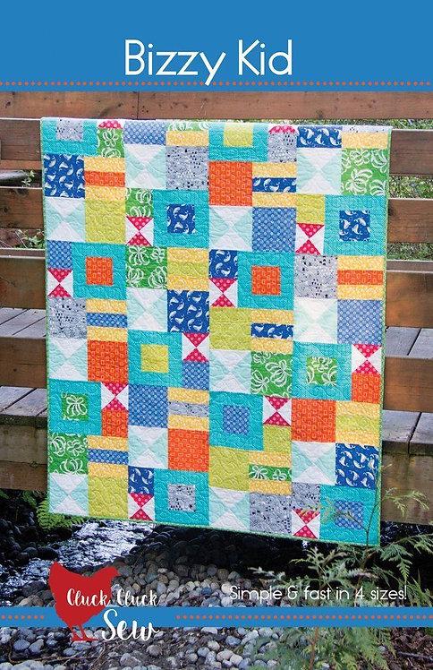 Cluck Cluck Sew BIZZY KID Fat Quarter Pattern