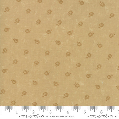 Fresh Cut Flowers 9568 21 Beige Floral Tonal Moda Kansas Troubles