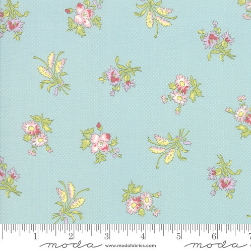 Bramble Cottage 18691 13 Blue Floral B Riddle Moda