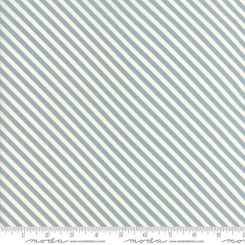 Woof Woof Meow 20569 11 Blue Stripe Moda Stacy Iset Hsu
