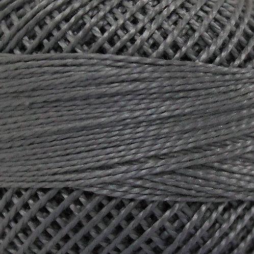 Finca PERLE COTTON #8  1 spool 10 grams Gray