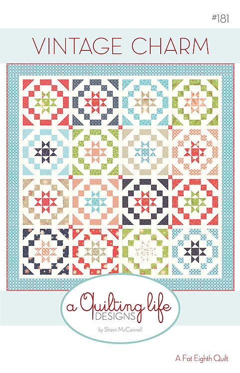 A Quilting Life STARRY NIGHT Fat Eighth Pattern