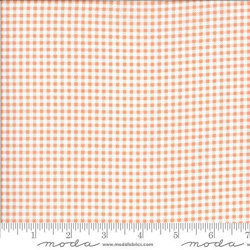 Apricot & Ash 29105 12 Red Pink Salmon Plaid Moda Corey Yoder