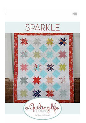 A Quilting Life SPARKLE Fat Eighth Pattern
